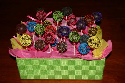 Cake Pop Arrangements